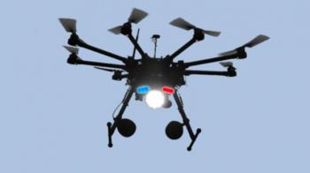 Ιπτάμενα drones σε ρόλο