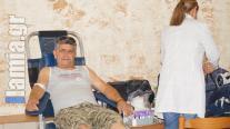 ΛΑΜΙΑ : Έδωσαν αίμα οι Διβριώτες....